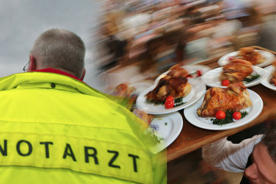 Ein Zeltbauer ist am Samstag auf dem Oktoberfest am Flughafen Essen/Mülheim gestorben