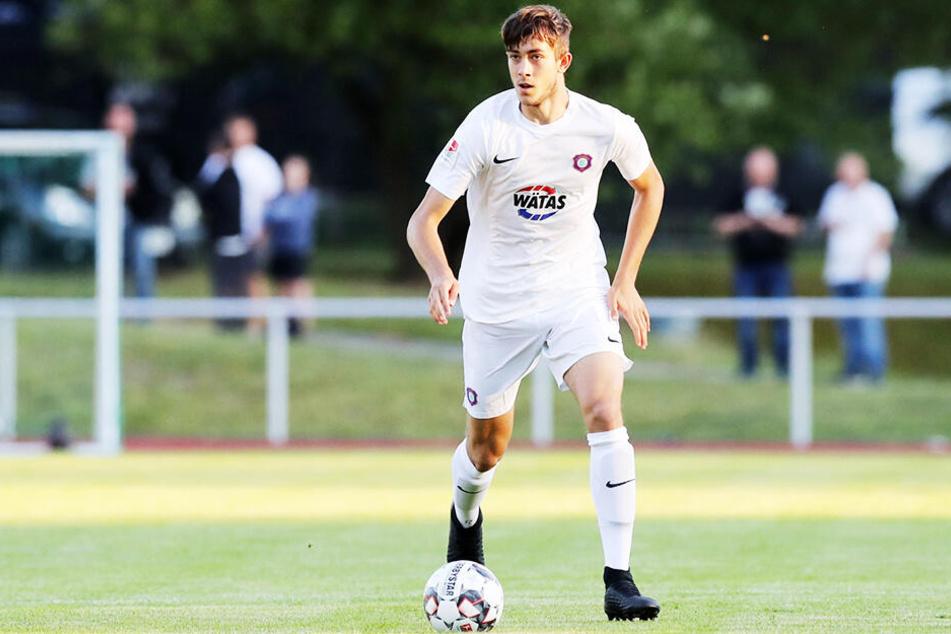 FCE-Talent Niklas Jeck gehört künftig zum Profikader - schafft mit ihm erneut ein Talent aus dem eigenen Nachwuchs den Sprung nach oben.