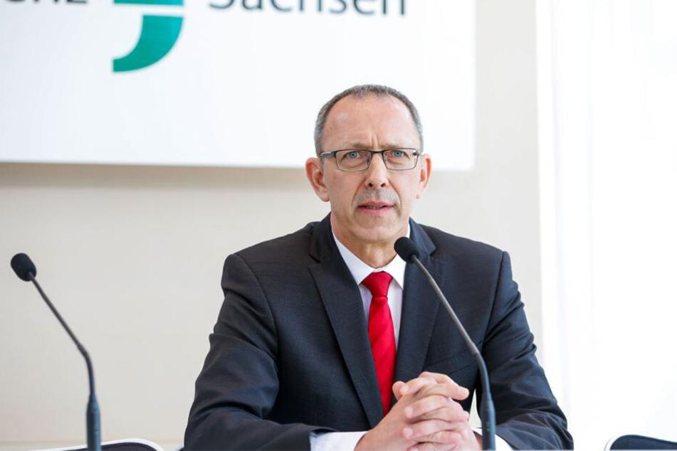 Jörg Urban ist Vorsitzender der sächsischen AfD.