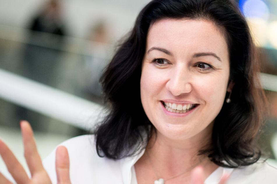 Digital-Staatsministerin Dorothee Bär (CSU) bekennt sich als großer Thomas-Müller-Fan. (Archiv)