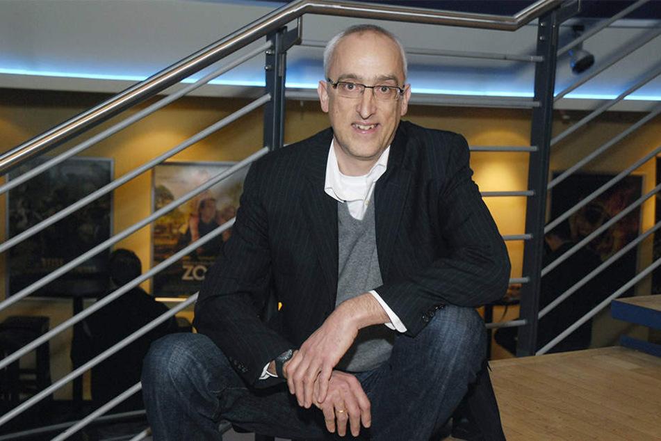 """Martin R. Neumann kommt aus Bielefeld und sorgt dafür, dass seine Heimatstadt in """"Wilsberg"""" immer wieder erwähnt wird."""