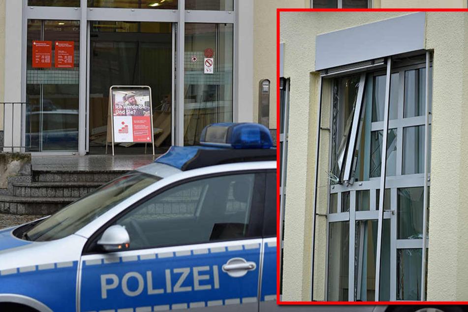 Die Sparkassen-Filiale in Lohsa bleibt die nächsten Tage aufgrund der Schäden geschlossen.