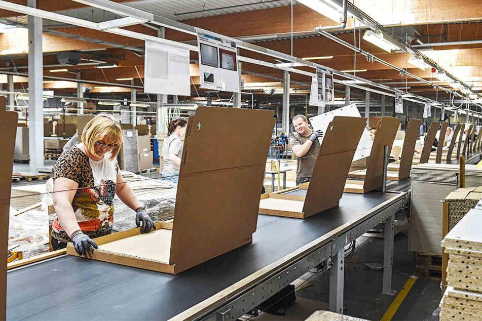 Die Mitarbeiter des Ikea-Zulieferers Maja Möbel wollen einen Tarifvertrag.