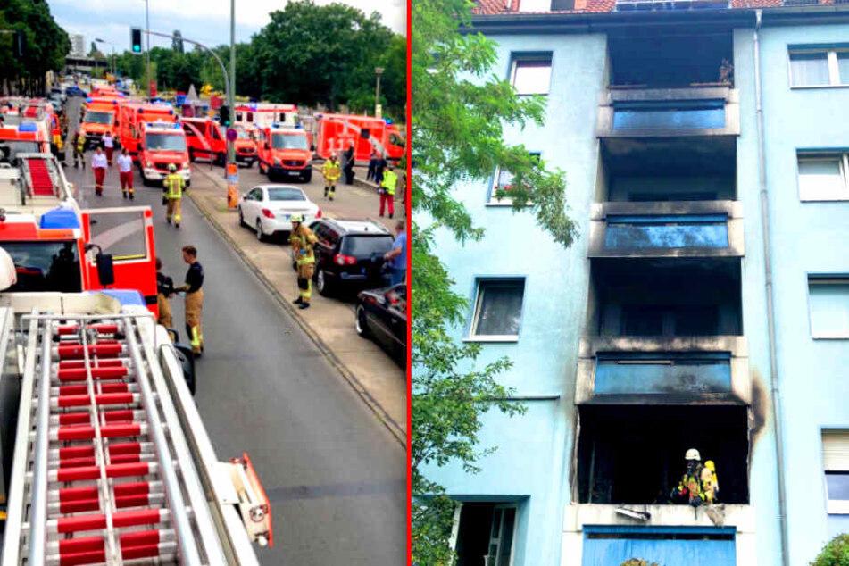 Heftiger Wohnungsbrand in Berlin: 13 Menschen im Krankenhaus!