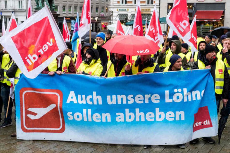 Neue Tarifrunde: Gewerkschaften und Flughafen verhandeln erneut