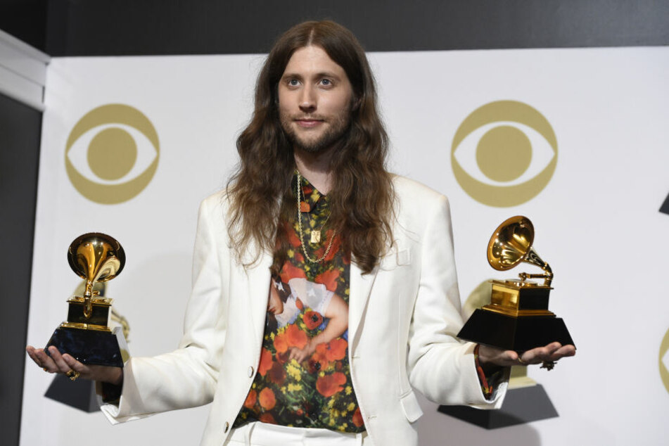 Songschreiber Ludwig Göransson präsentierte die Grammys, Sänger Donald Glover (Childish Gambino) war nicht anwesend.