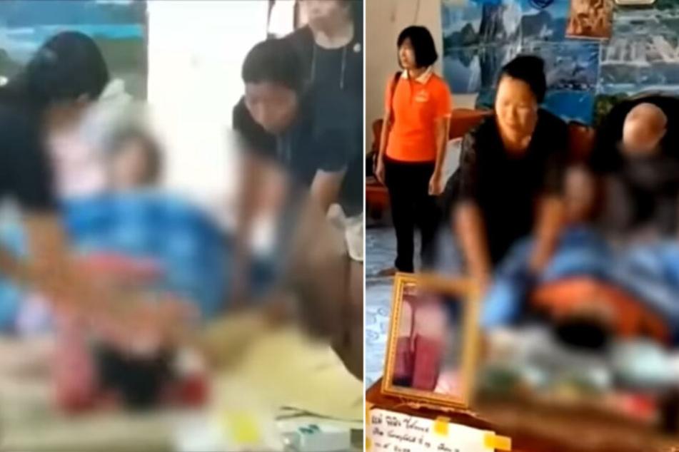 """Frau beinahe lebendig eingeäschert: """"Tote"""" kehrt ins Leben zurück"""