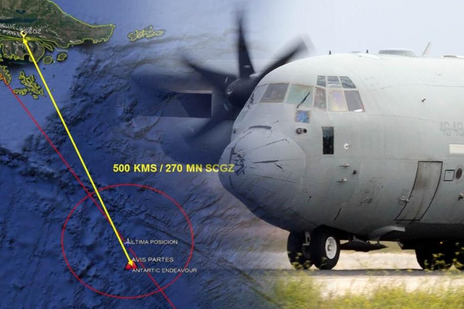 Flugzeug mit 38 Insassen verschwunden: Fund im Meer lässt Schlimmes befürchten