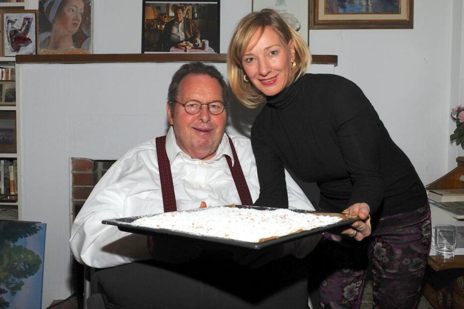 Otti Fischer und seine Freundin Simone Brandlmeier wollen nun nach 13 Jahren heiraten. (Archivbild)
