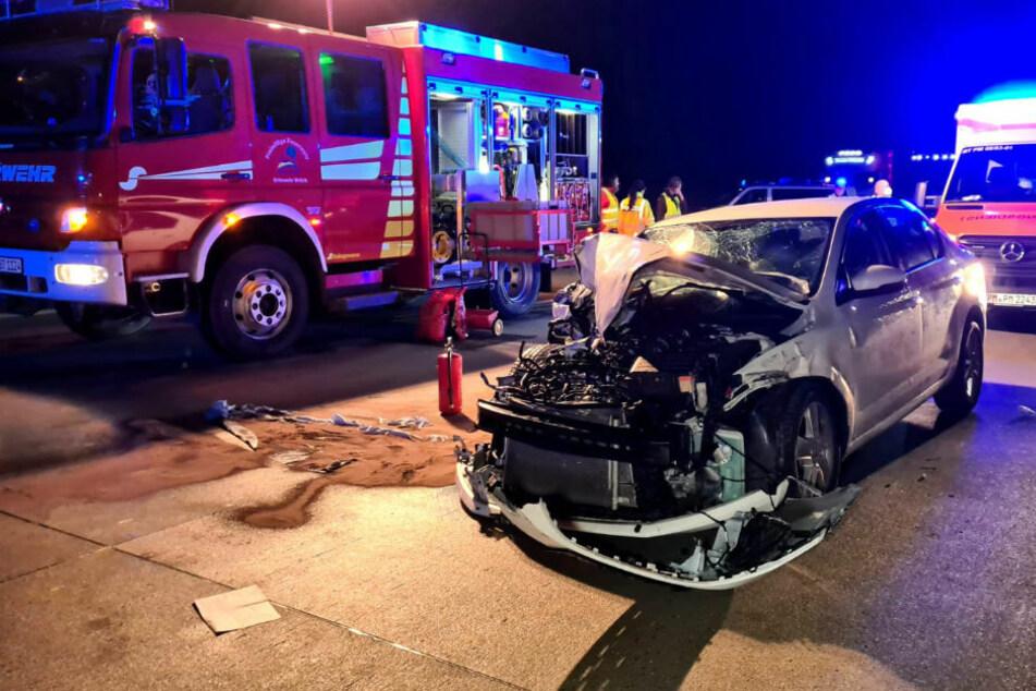 Berlin: Unfall nach Sekundenschlaf? Schwerverletzte bei Crash auf A9