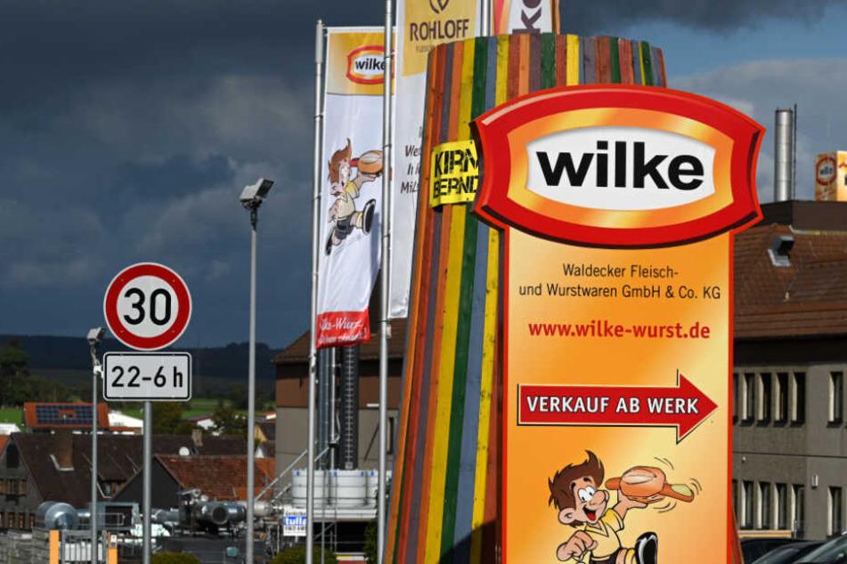 Die Firma Wilke hat der Schnellwarnstelle eine Liste der belieferten Betriebe zur Verfügung gestellt.