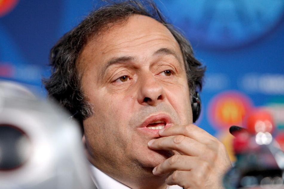 Platini wurde in Polizeigewahrsam genommen.