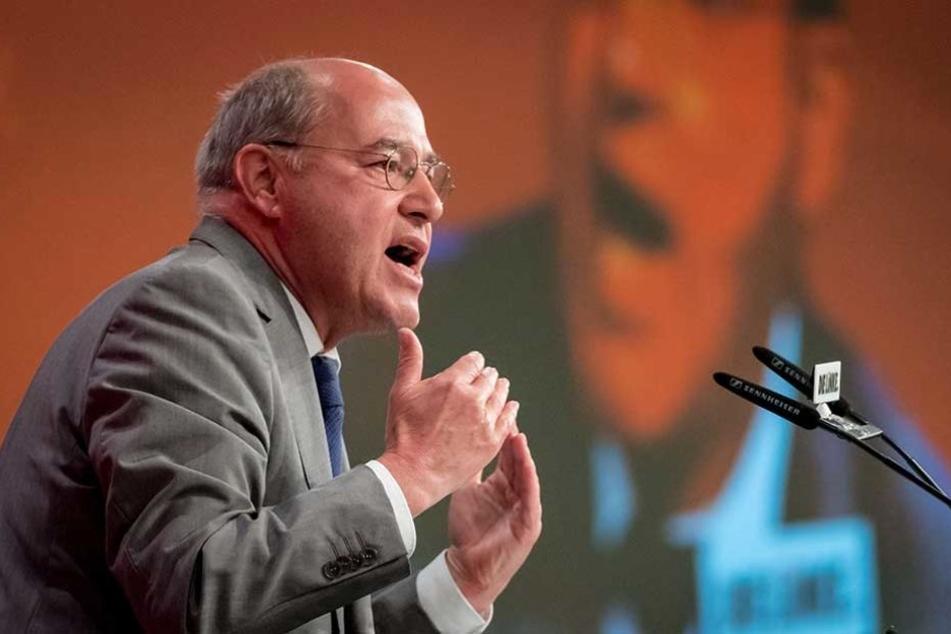 Im Bundestagswahlkampf von 2013 wurde Gregor Gysi zum besten Redner gekürt.