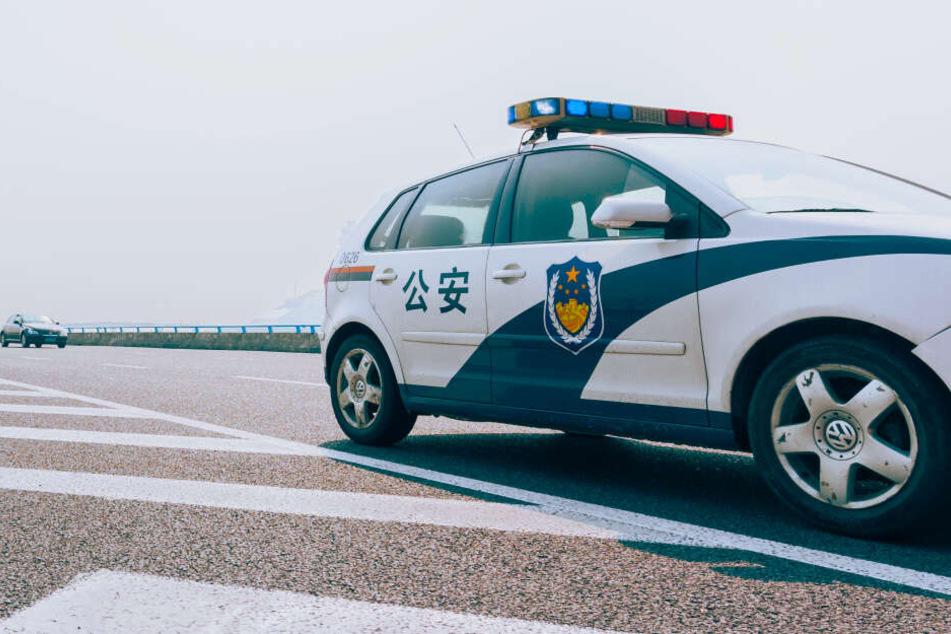Die chinesische Polizei war sofort zur Stelle (Symbolbild).