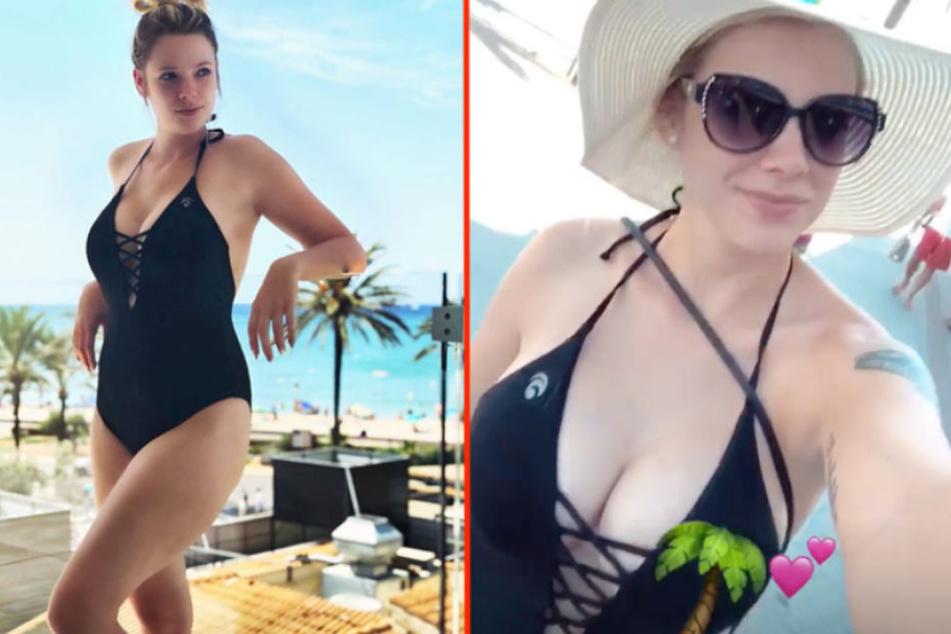 Ex-BTN-Star Anne Wünsche (26) wehrt sich gegen Badeanzug-Shitstorm