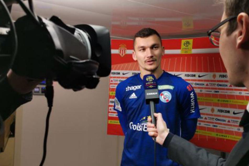 Ludovic Ajorque scheint auf dem Zettel von Fredi Bobic zu stehen.