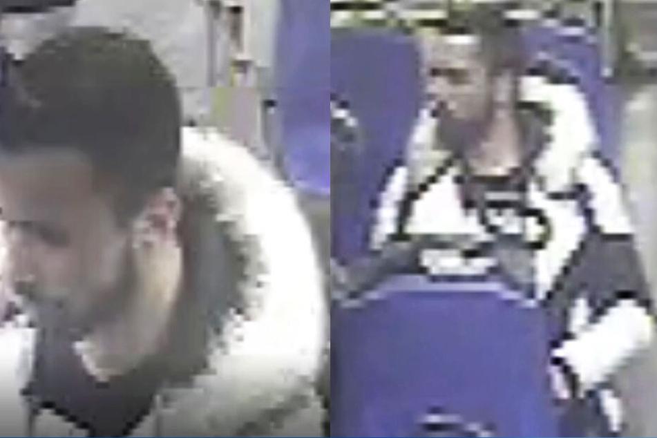 Die Kölner Polizei sucht diesen Mann mit Irokesen-Frisur.