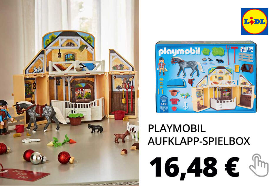 Playmobil Aufklapp-Spielbox »Reitstall«