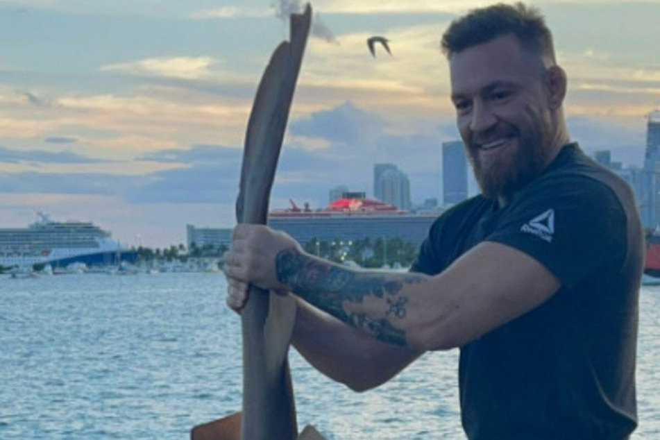A fishy catch and release: Conor McGregor gets backlash for shark run-in