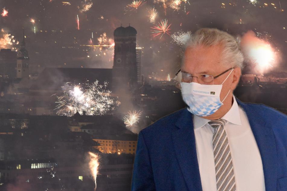 Joachim Herrmann (64, CSU), Innenminister von Bayern, verweist bei der Diskussion ums Böllerverbot auf das vorläufige Feierverbot.