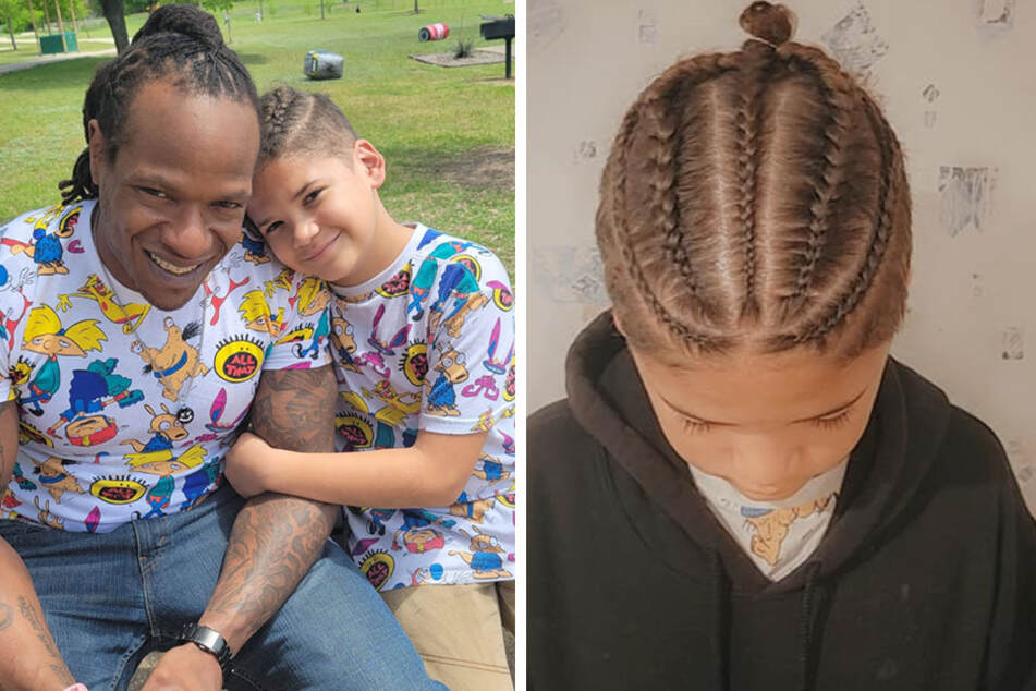 Maddox Cozart was suspended for wearing his hair in cornrows.