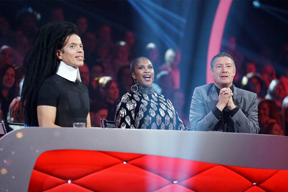 Wieder in der Jury (v.l.): Jorge, Motsi und Joachim.
