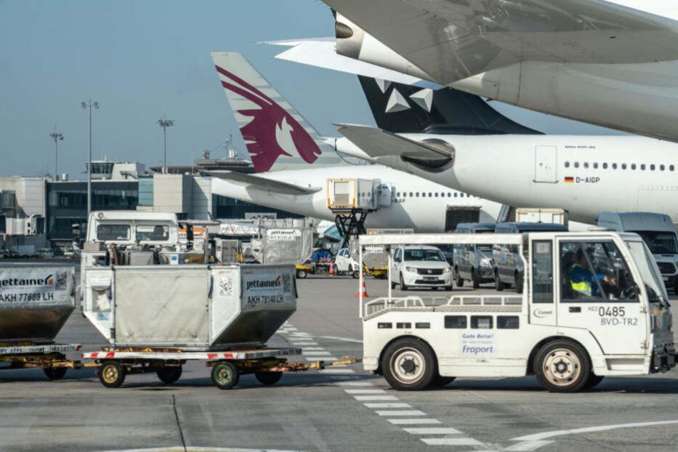 Der Flughafen steht in engem Kontakt mit dem Gesundheitsamt (Symbolfoto).