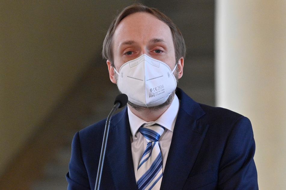 Jakub Kulhanek, der Außenminister von Tschechien.