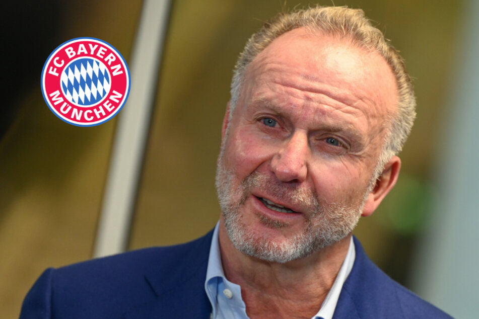 """""""Was zur Hölle?"""": Bayern-Boss Rummenigge sorgt mit bizarrer Maske für Verwirrung"""
