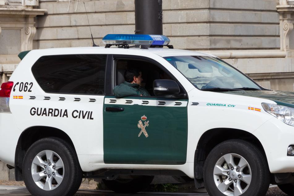 Die Polizeieinheit Guardia Civil nahm den gesuchten Mann fest. (Symbolbild)