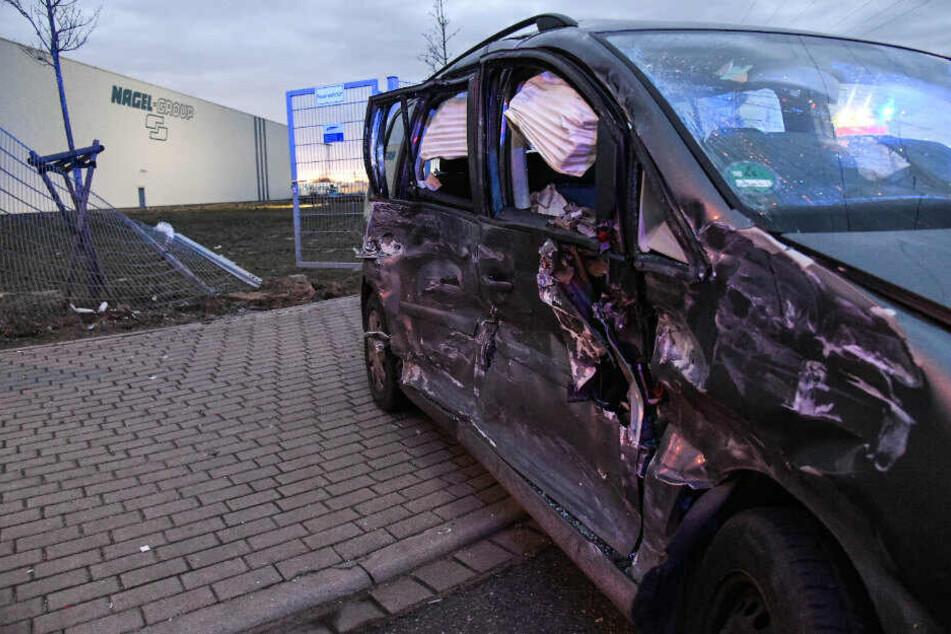Die Frau wurde bei dem Unfall schwer verletzt.