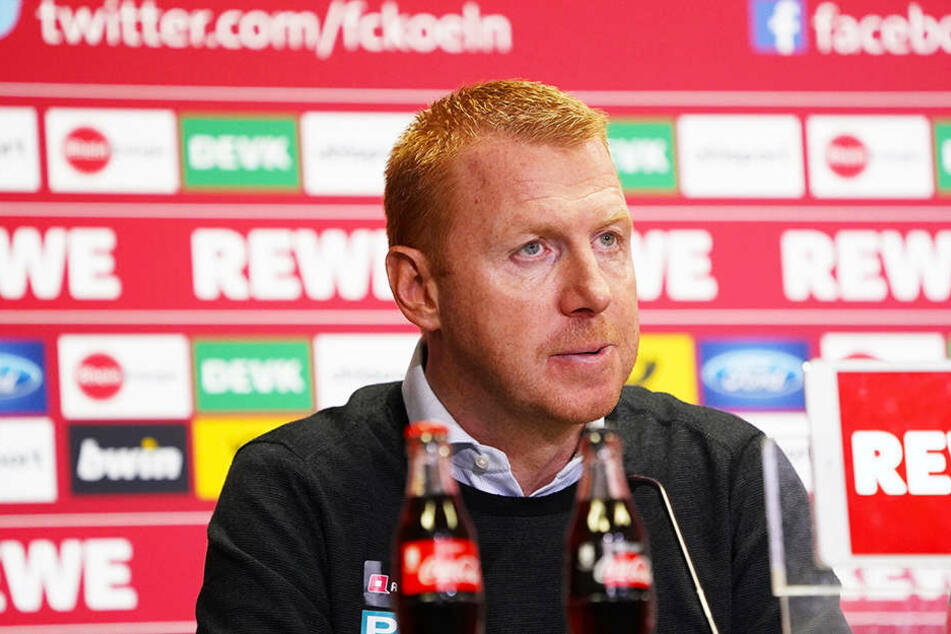 Dynamo-Trainer Maik Walpurgis rang nach der Partie nach Worten.