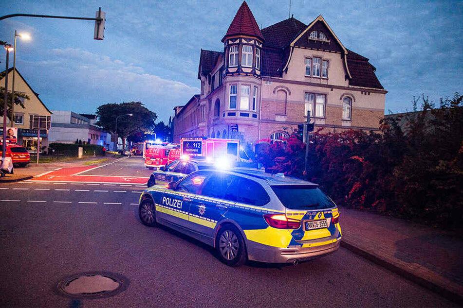 Gegen 6.04 Uhr ging der Alarm bei der Polizei ein.