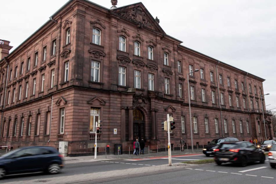 Das Mannheimer Gerichtsgebäude.
