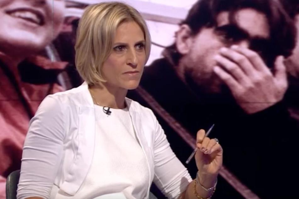 BBC-Moderatorin Emily Maitlis zeigte sich gut informiert und verbissen.