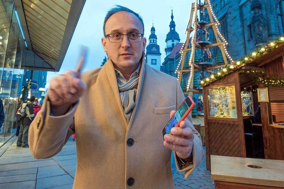 Politiker will Handyverbot auf Weihnachtsmärkten