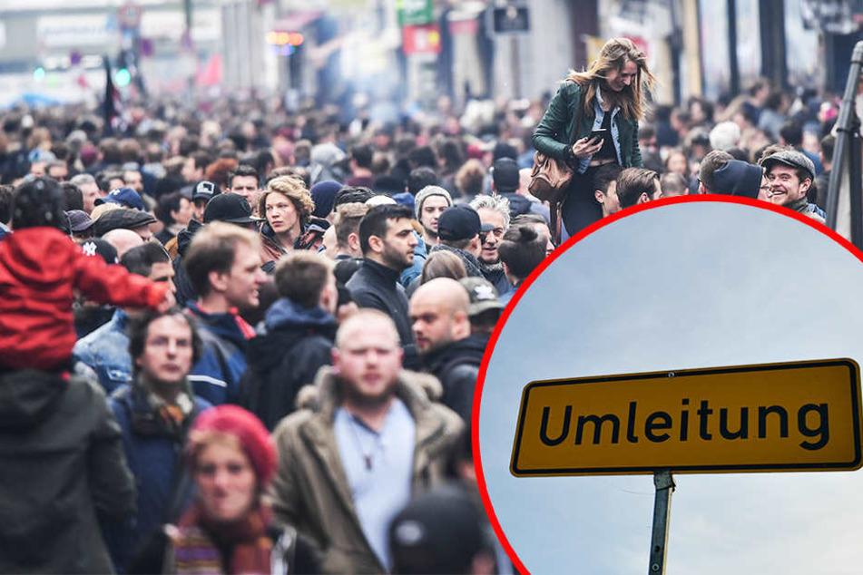 Demo sorgt am Samstag für Verkehrs-Einschränkungen in Leipzig!