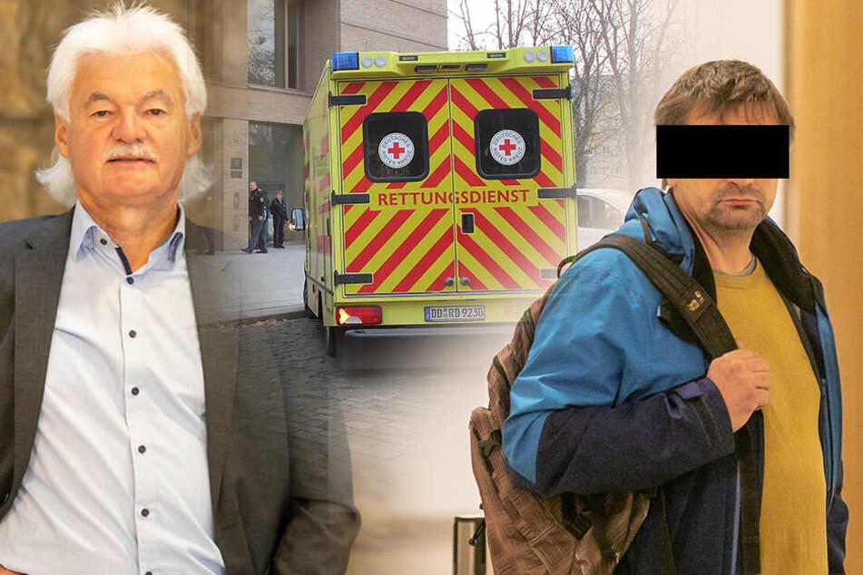 Amtsleiter ging blutend zu Boden: Jetzt steht die Prügel-Anklage gegen den Angreifer