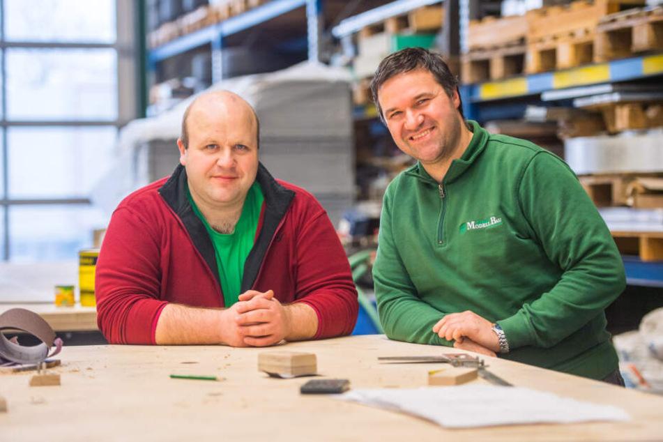 Rico (43) und Ulli Clauß (35) leiten den Betrieb bereits in dritter Generation.