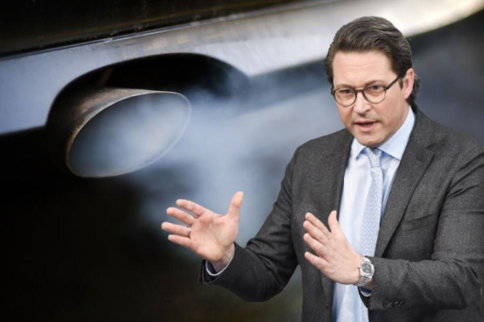 Bundesverkehrsminister Andreas Scheuer (44, CSU) hatte zum Diesel-Gipfel geladen. (Symbolbild)