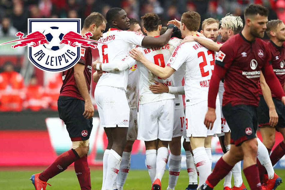 Hartes Stück Arbeit gegen den Letzten! RB Leipzig ringt Nürnberg nieder