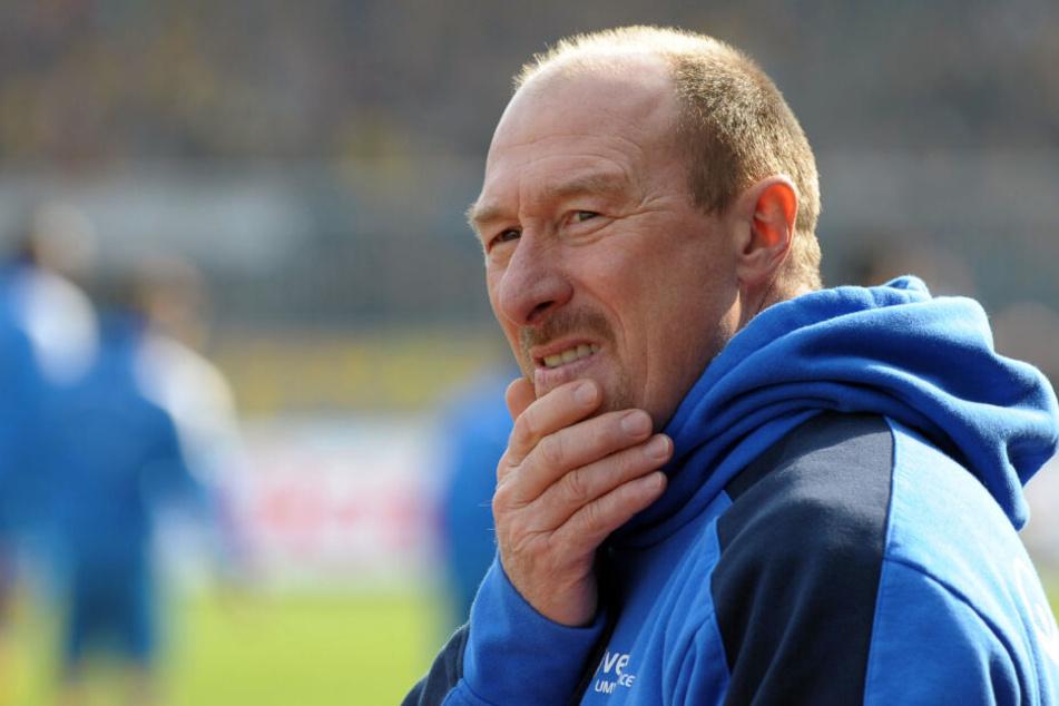Wolfgang Wolf wird neuer Sportdirektor beim 1. FC Lok Leipzig.