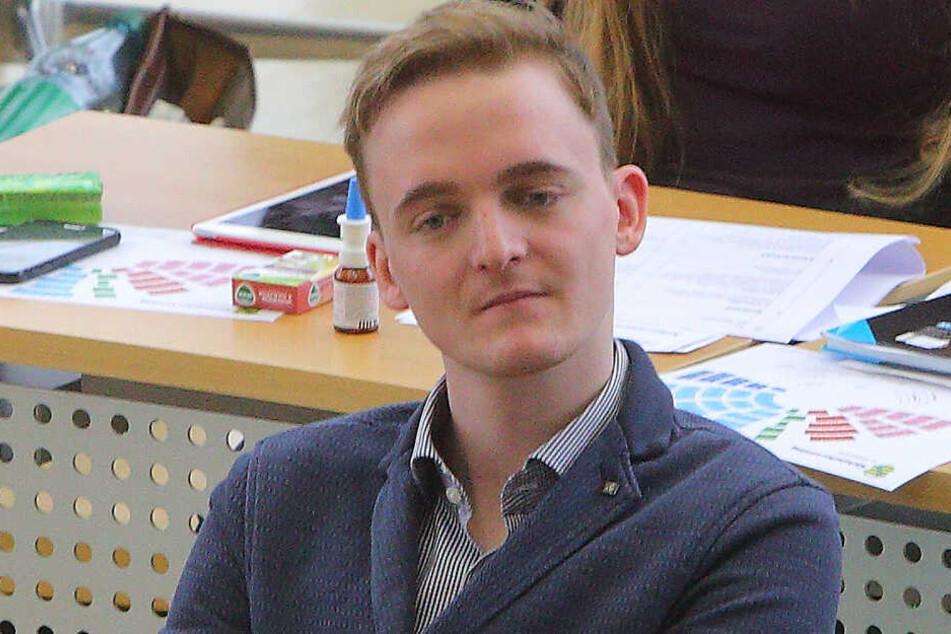 Auch der Abgeordnete Marco Böhme (29, Linke) will der CDU den Wahlkreis wegschnappen.