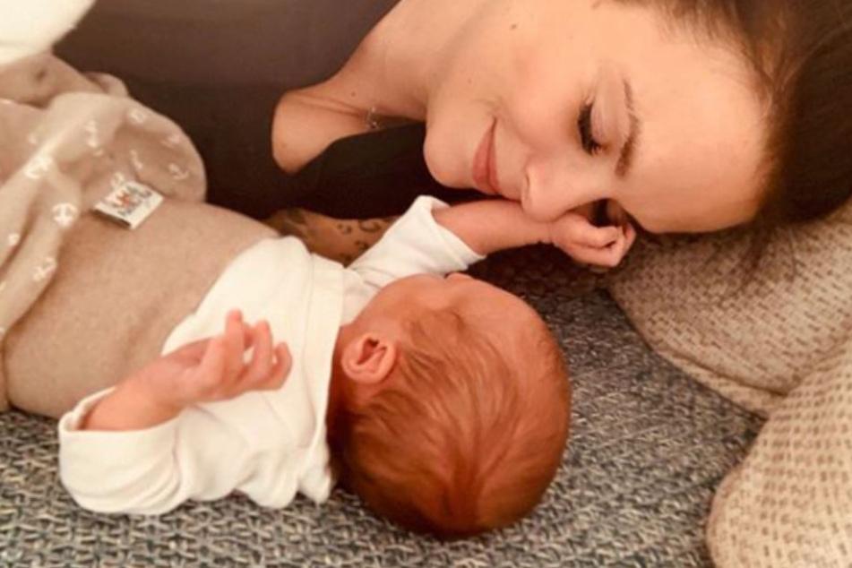 Schlaflos in Berlin: Baby Ben-Matteo lässt Mama Denise keine Ruhe