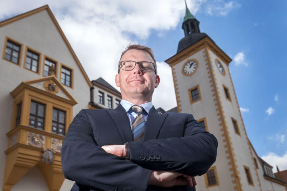 Oberbürgermeister Sven Krüger erklärte, dass Freiberg an seine Kapazitätsgrenzen gekommen sei.