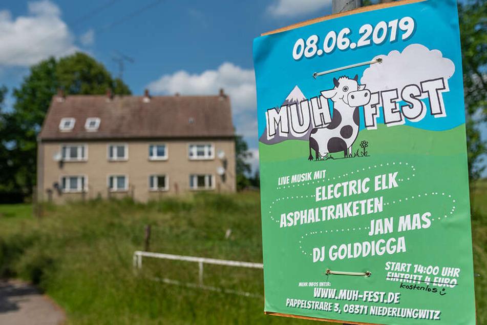 Das Muh-Fest im Glauchauer Ortsteil Niederlungwitz feiert am heutigen Samstag Premiere.
