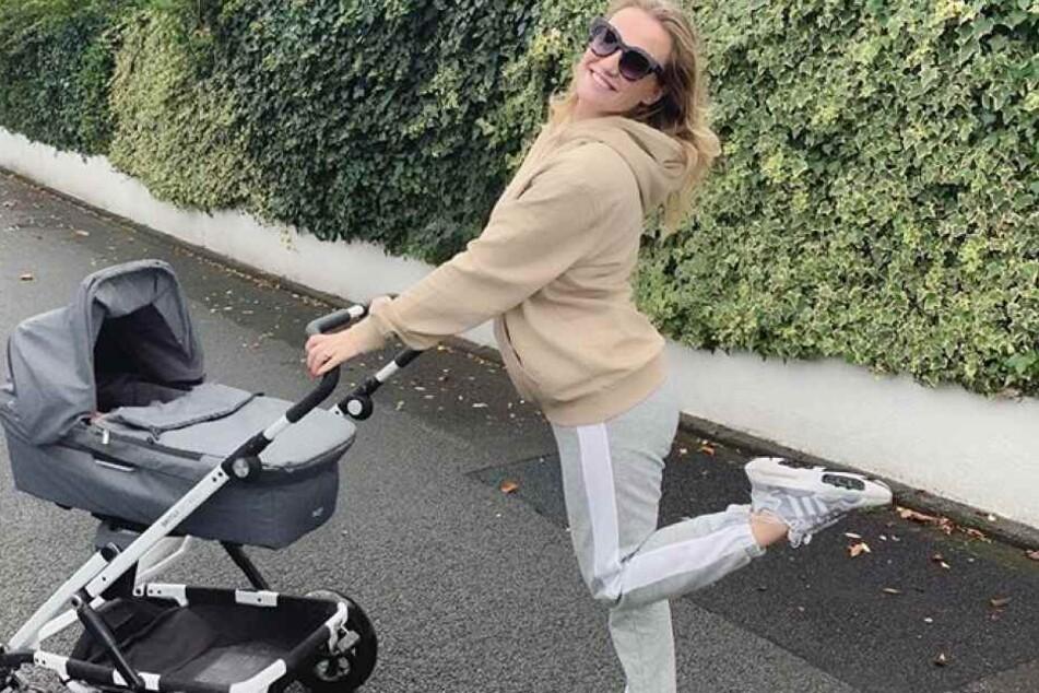 AWZ-Star macht ersten Baby-Ausflug nach der Geburt!