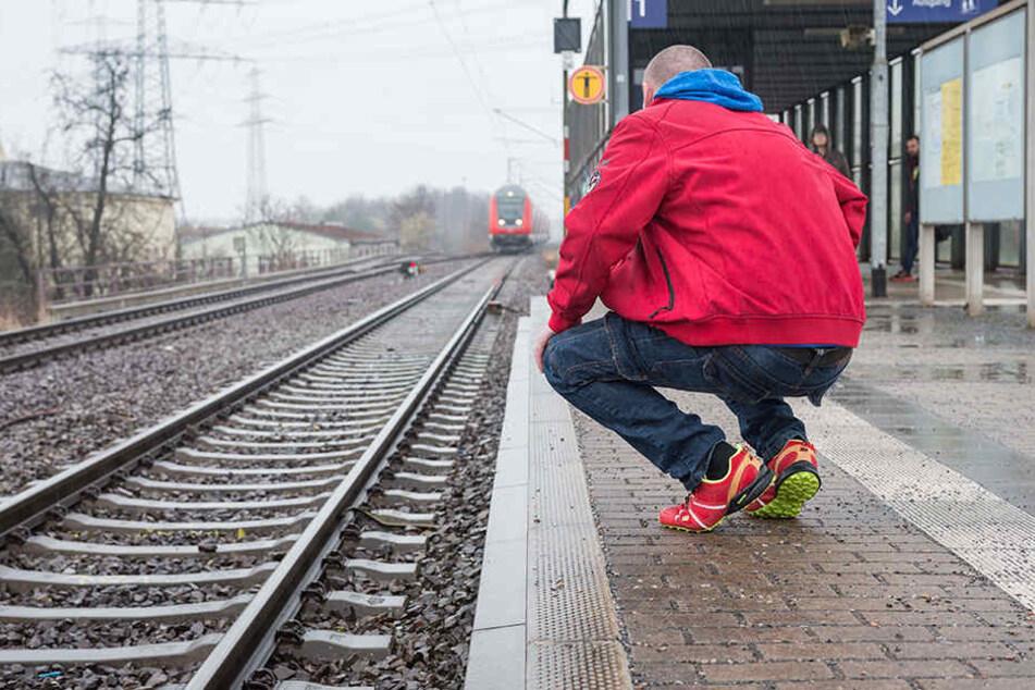 Hier wurde Rene J. (41) auf die Gleise geschubst.