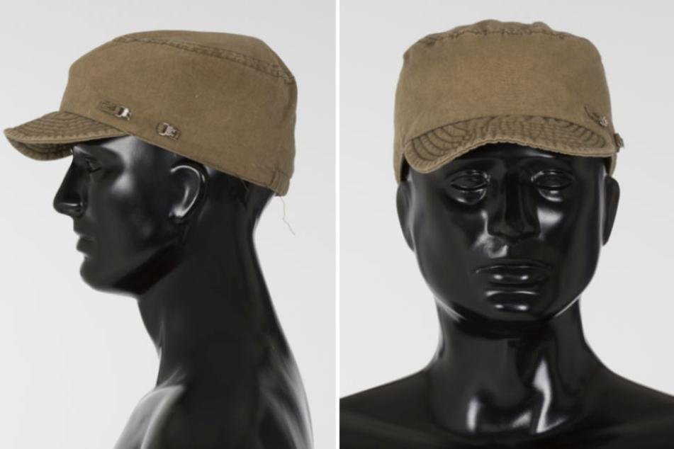 Diese auffällige Mütze trug der Täter, die er am Fundort der Leiche in Berlin-Pankow zurückließ.