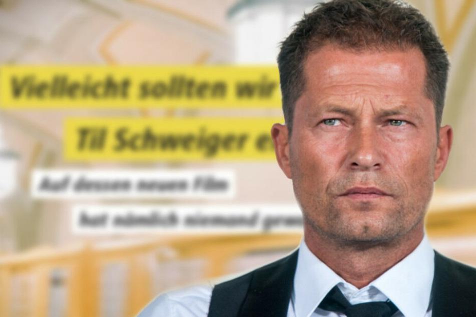 Nach Kino-Flop: BVG macht sich über Til Schweiger lustig